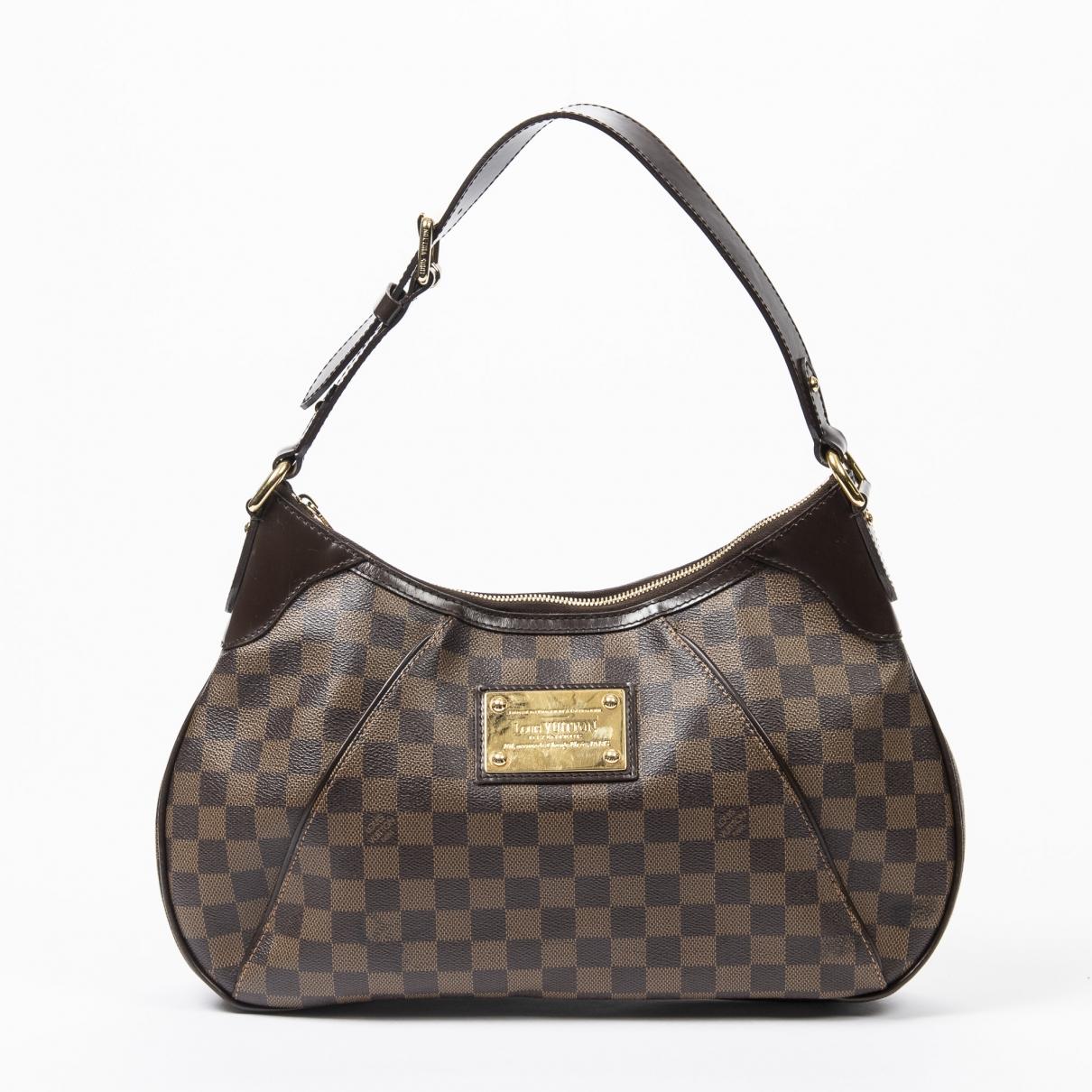 Bolso Thames de Cuero Louis Vuitton