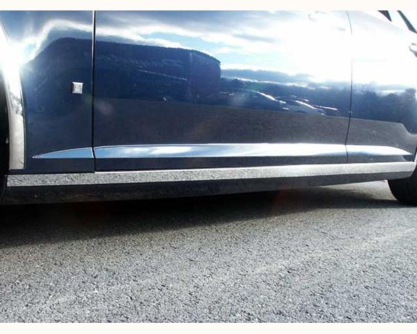 Quality Automotive Accessories 4-Piece Rocker Panel Accent Trim Kit Cadillac STS 2006