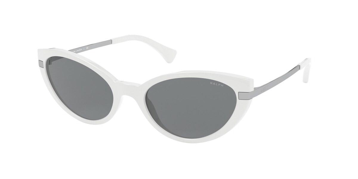 Ralph by Ralph Lauren RA5266 522987 Women's Sunglasses White Size 53