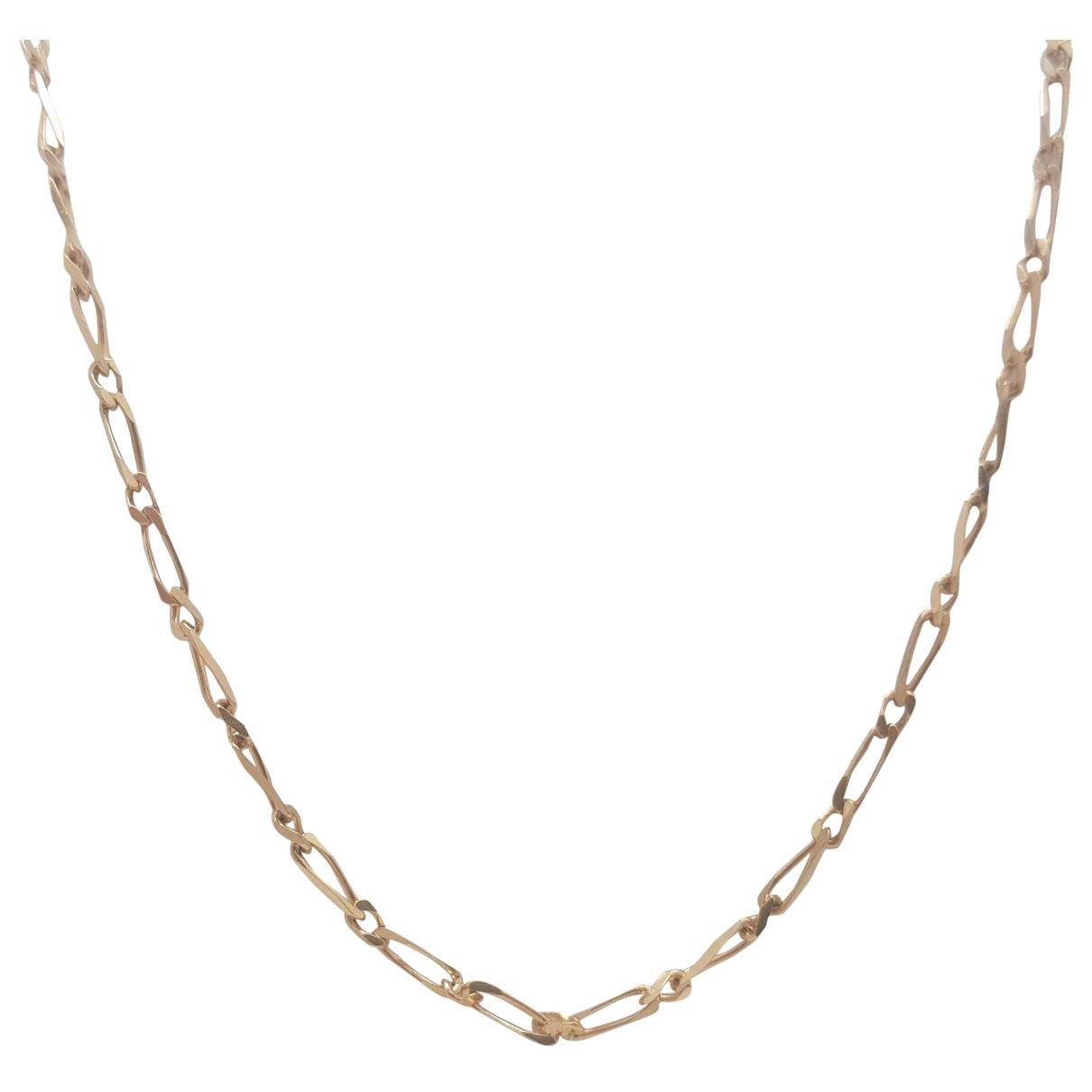 Collar Chaines de Oro amarillo Non Signe / Unsigned