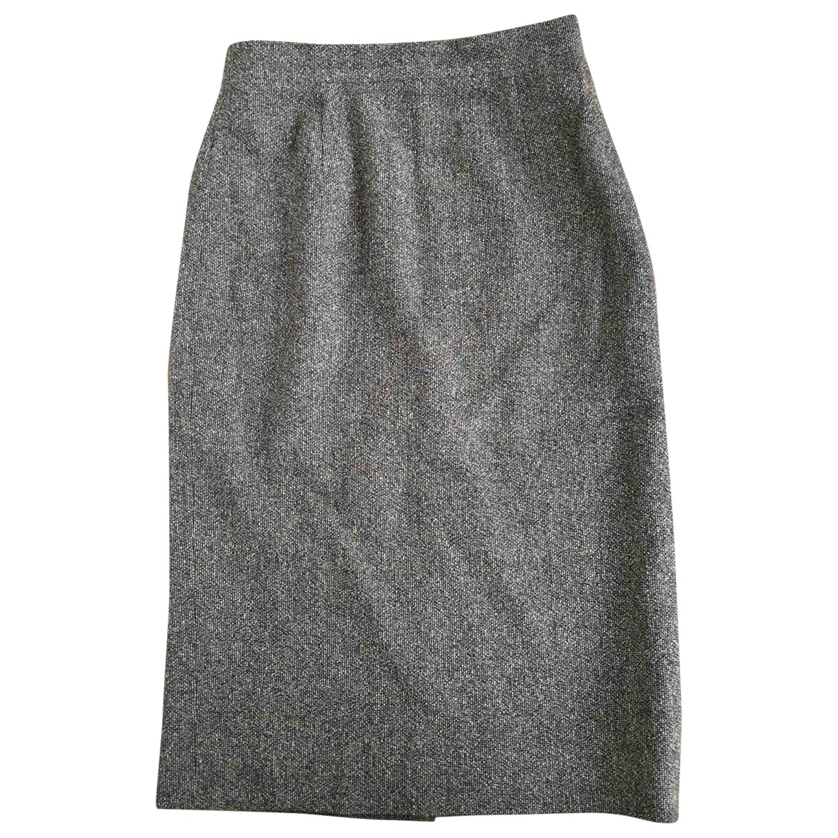 Daks - Jupe   pour femme en laine - marron