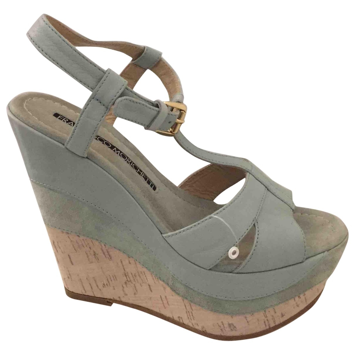 Non Signé / Unsigned \N Leather Sandals for Women 39 EU