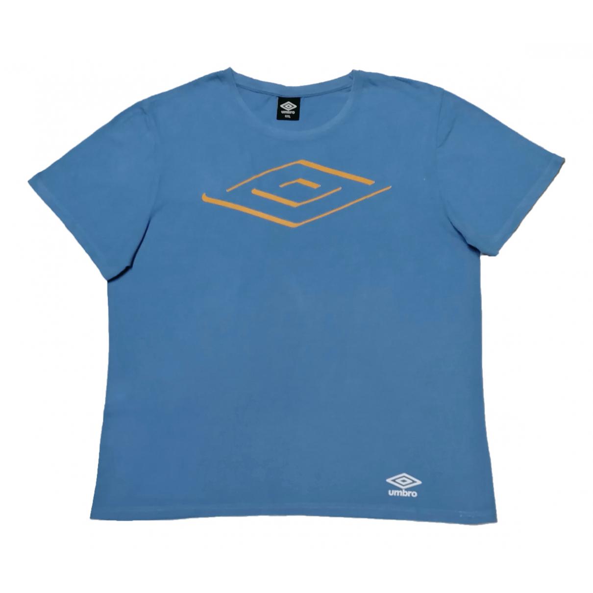 Umbro - Tee shirts   pour homme en coton - bleu