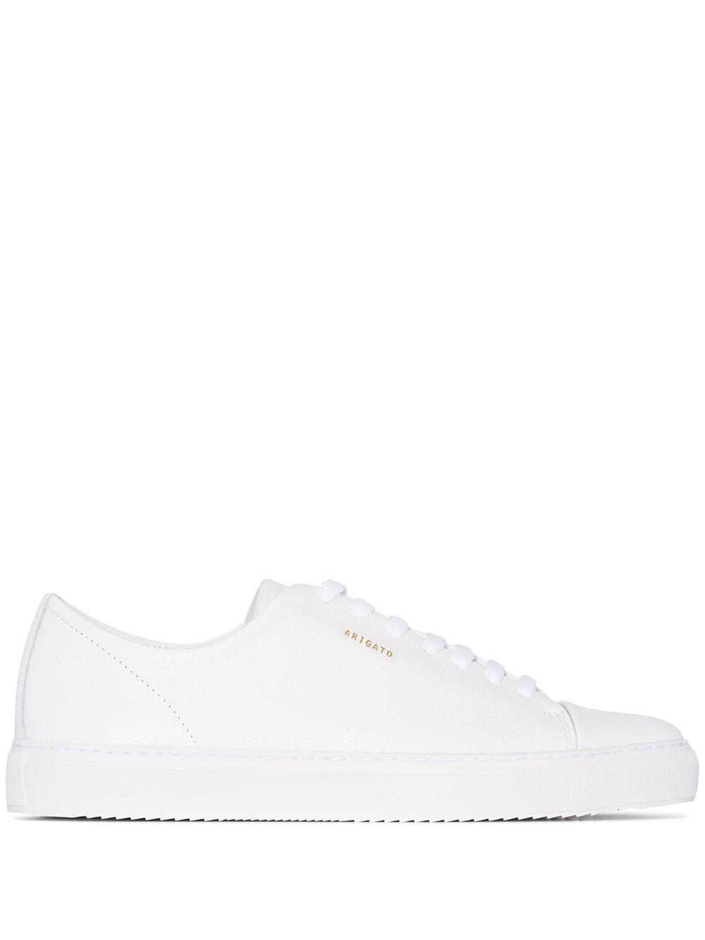 Cap-toe Leather Sneakers