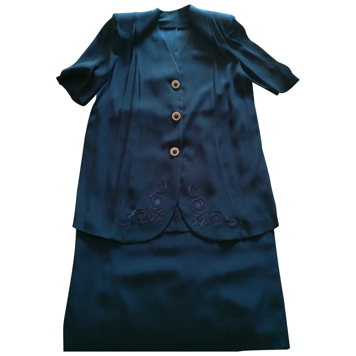 - Robe Oversize pour femme - bleu