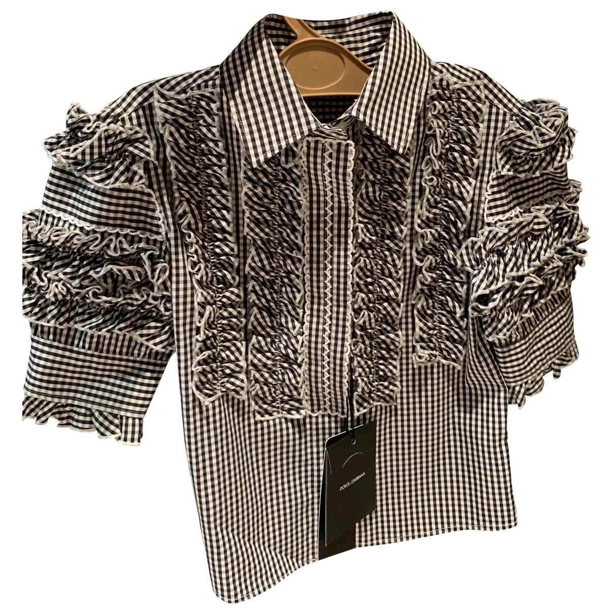 Dolce & Gabbana \N Oberteile in  Blau Baumwolle
