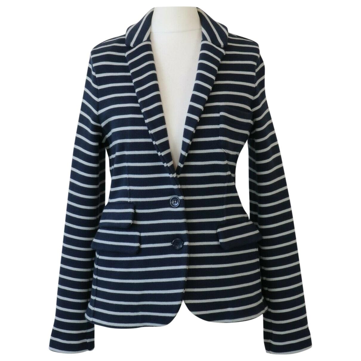 Whistles - Veste   pour femme en coton - marine