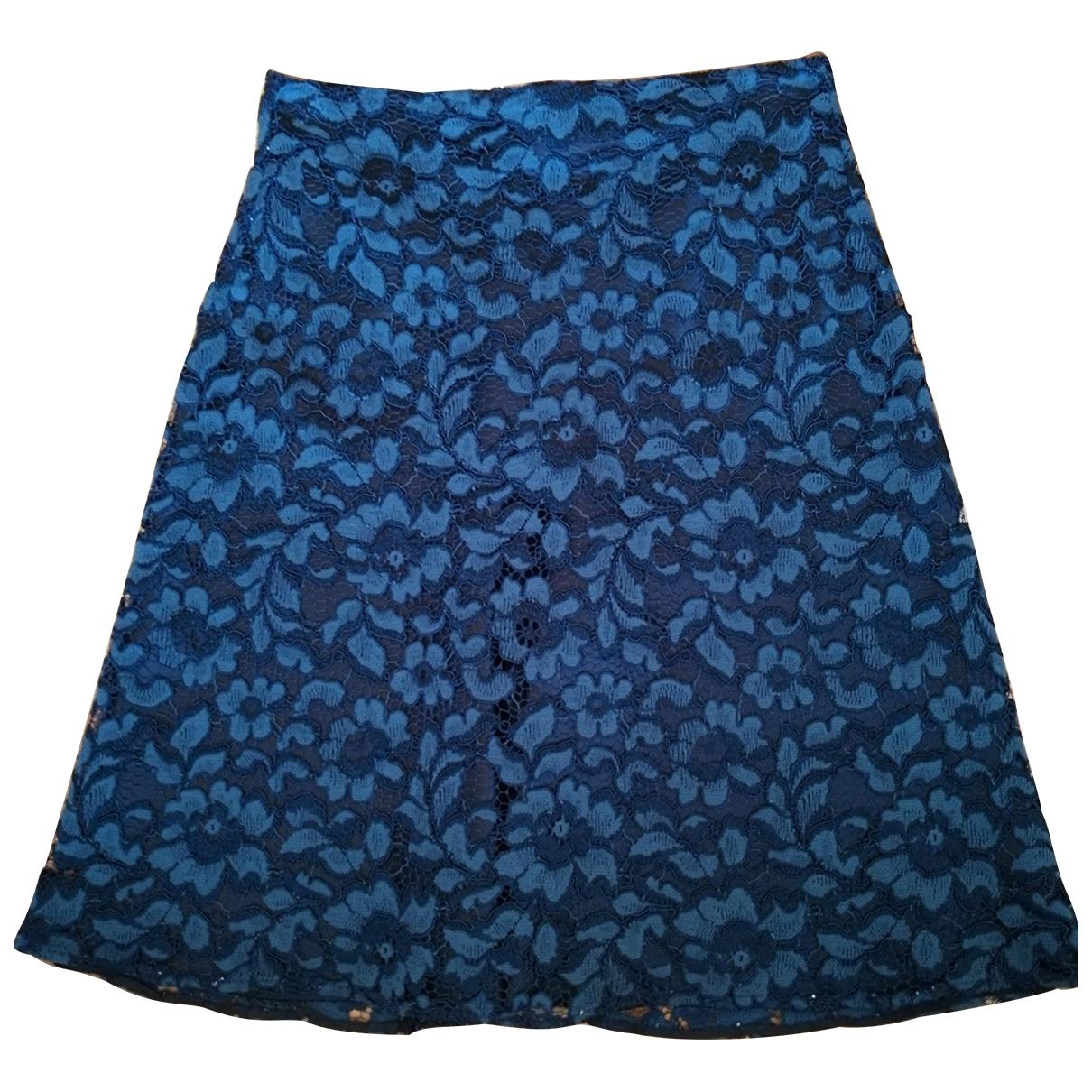 Zara Hippie Chic Rocke in  Blau Baumwolle