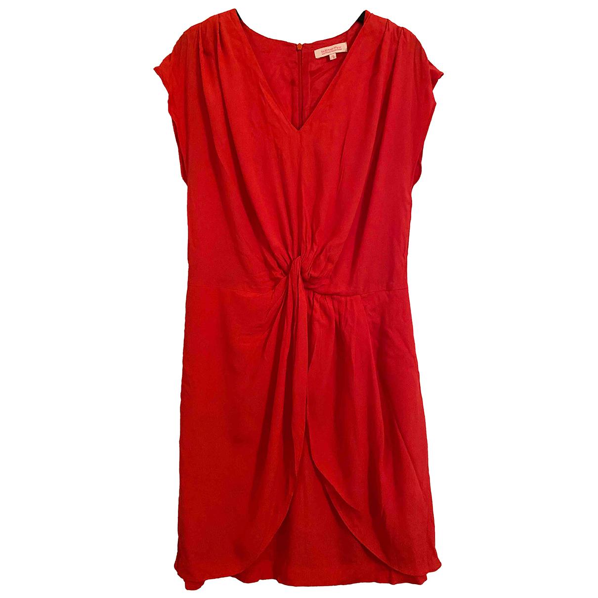 Matthew Williamson \N Kleid in  Orange Viskose