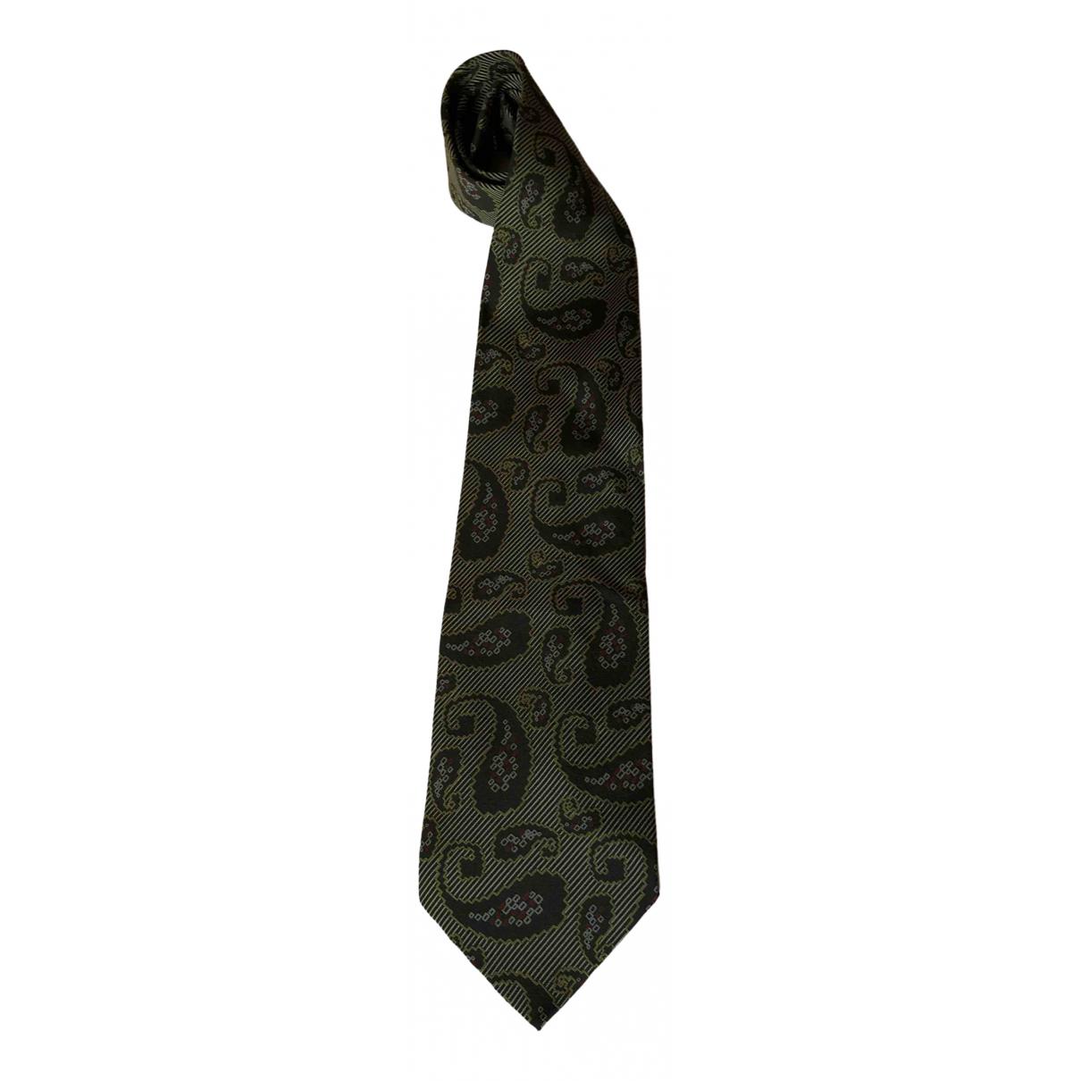 Giorgio Armani - Cravates   pour homme en soie - vert