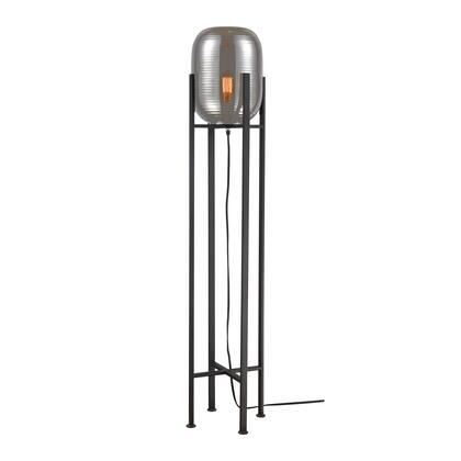 D4038 Cravate Noir Floor Lamp  In