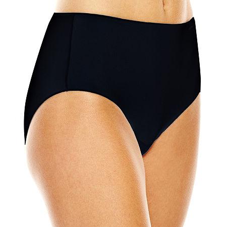 Jockey No Panty Line Promise Tactel Microfiber Brief Panty 1372, 8 , Black
