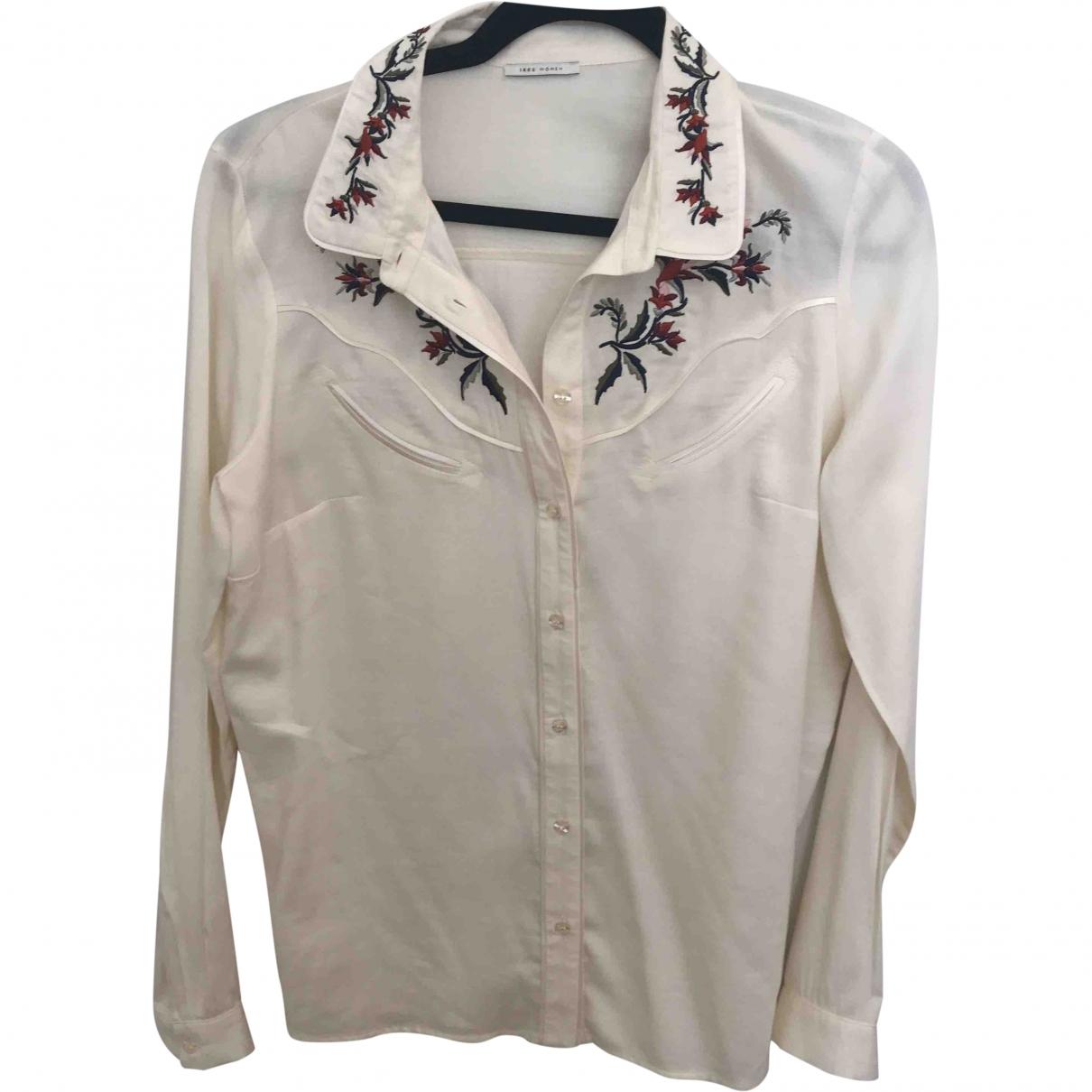 Ikks \N White Cotton  top for Women 38 FR