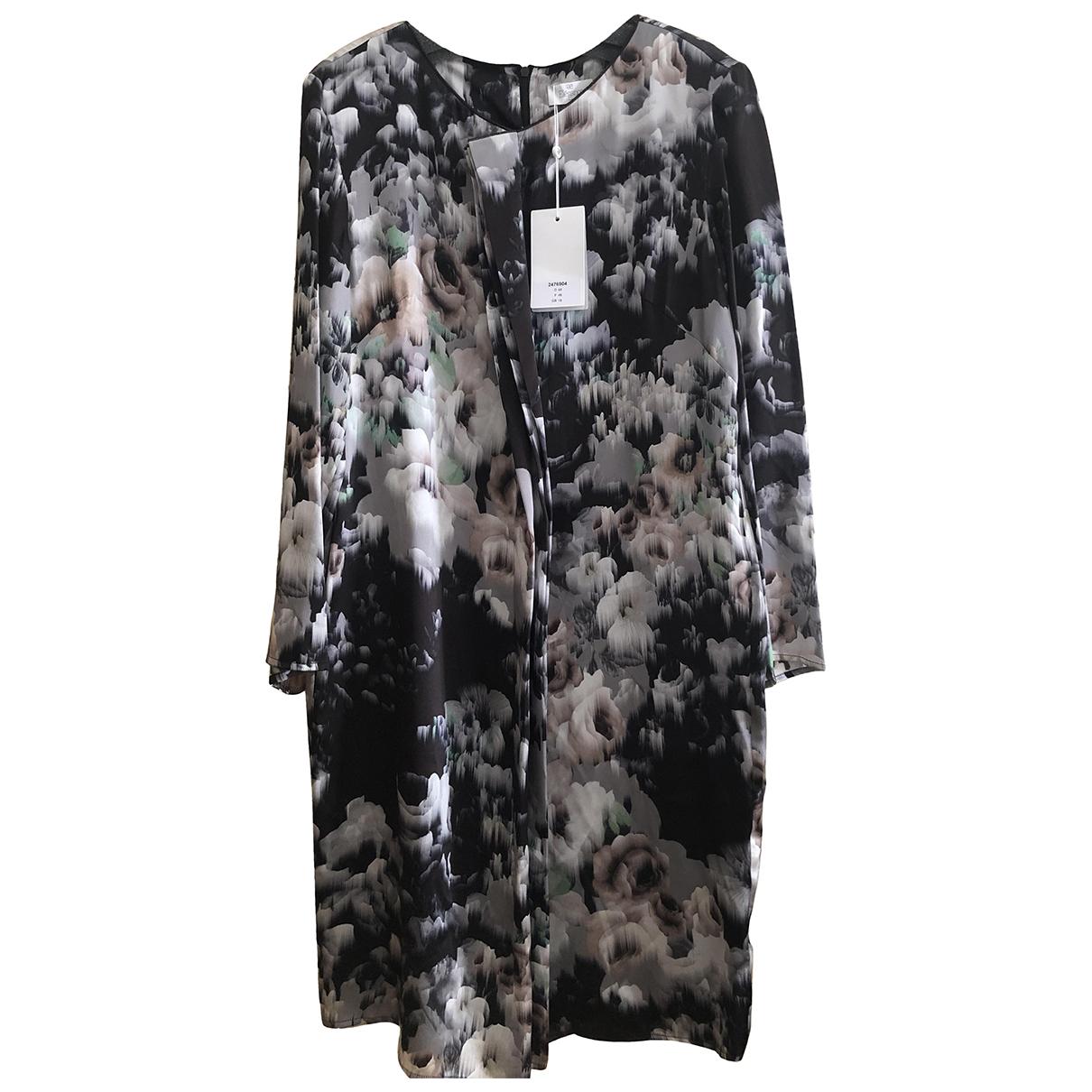 Elegance Paris \N Multicolour Silk dress for Women 46 FR
