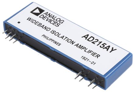 Analog Devices AD215AY , Isolation Amplifier, 12-Pin SIP (8)