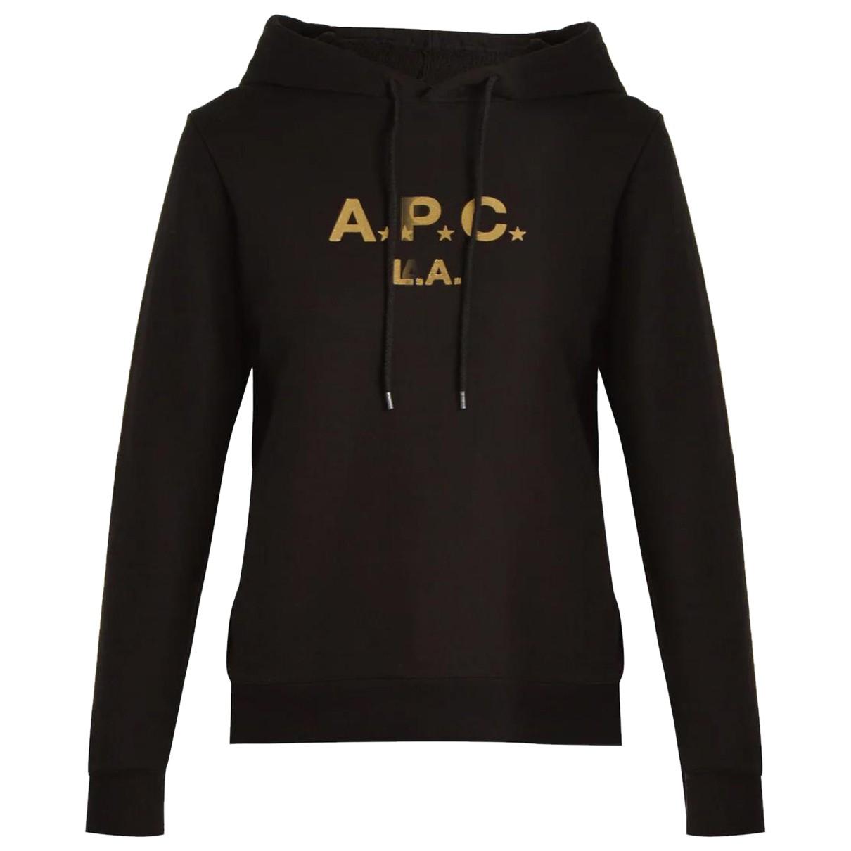 Apc N Black Cotton Knitwear for Women M International