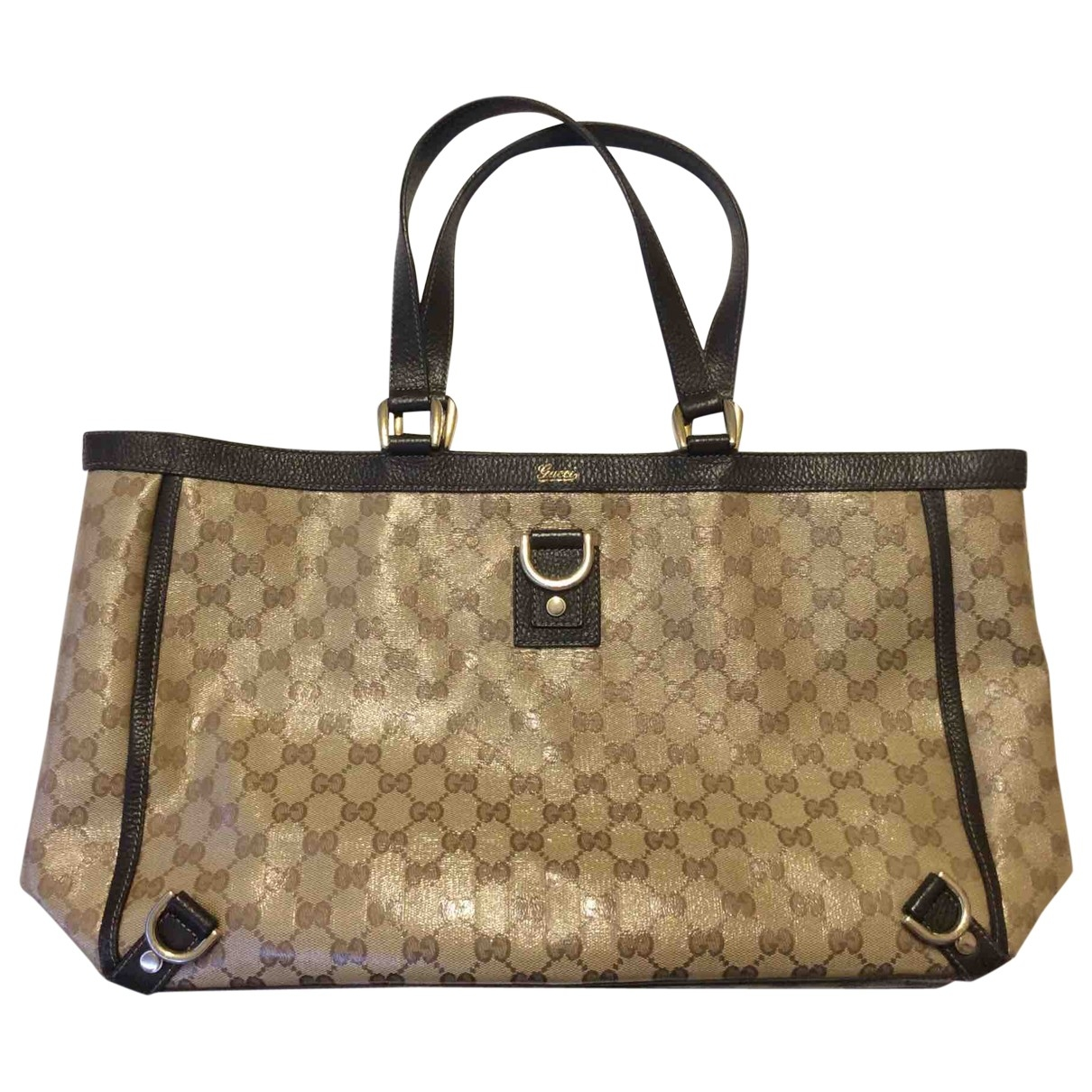 Gucci \N Brown Cloth handbag for Women \N