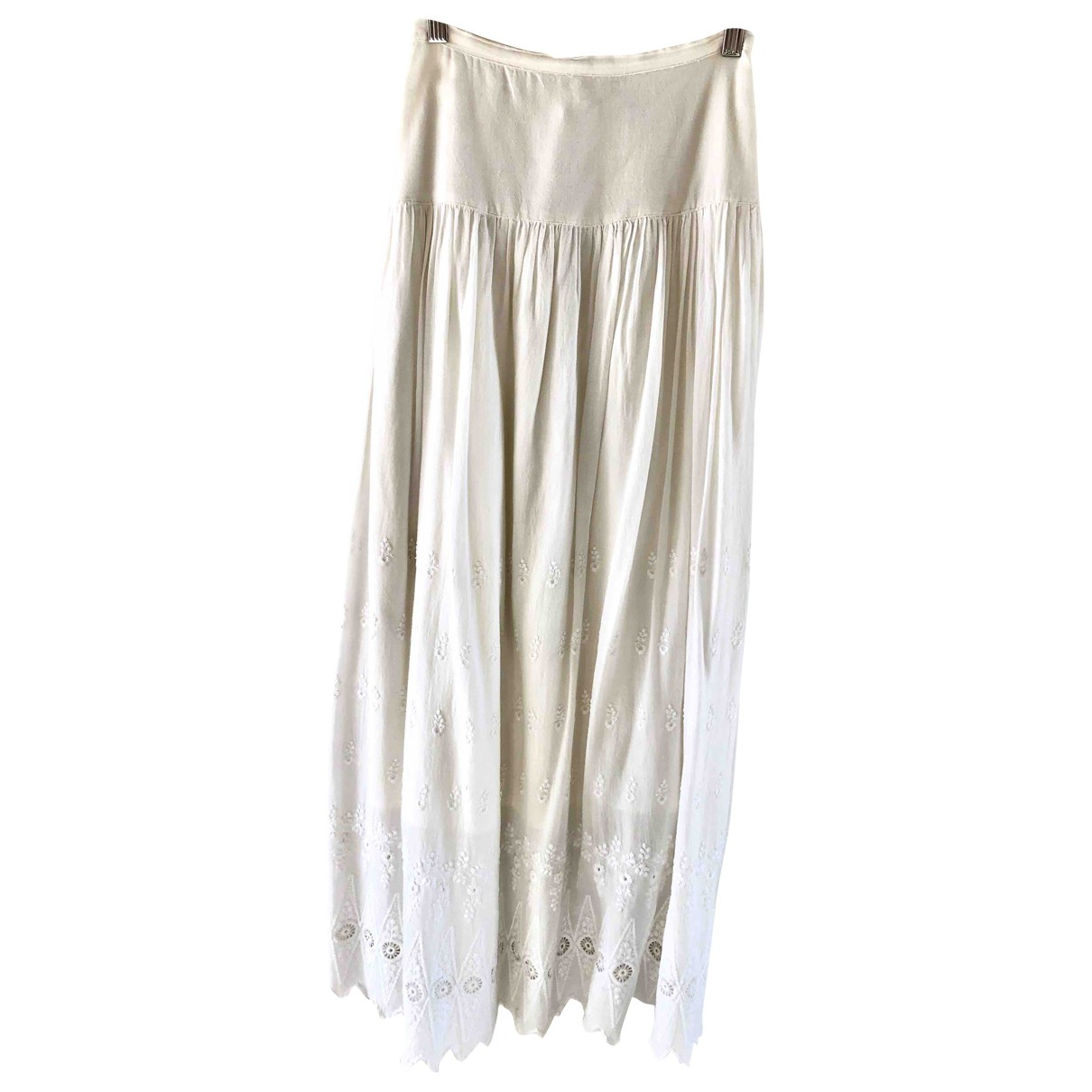 Local Supply \N White Cotton skirt for Women S International