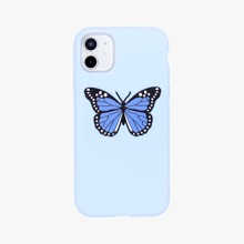iPhone Huelle mit Schmetterling Muster