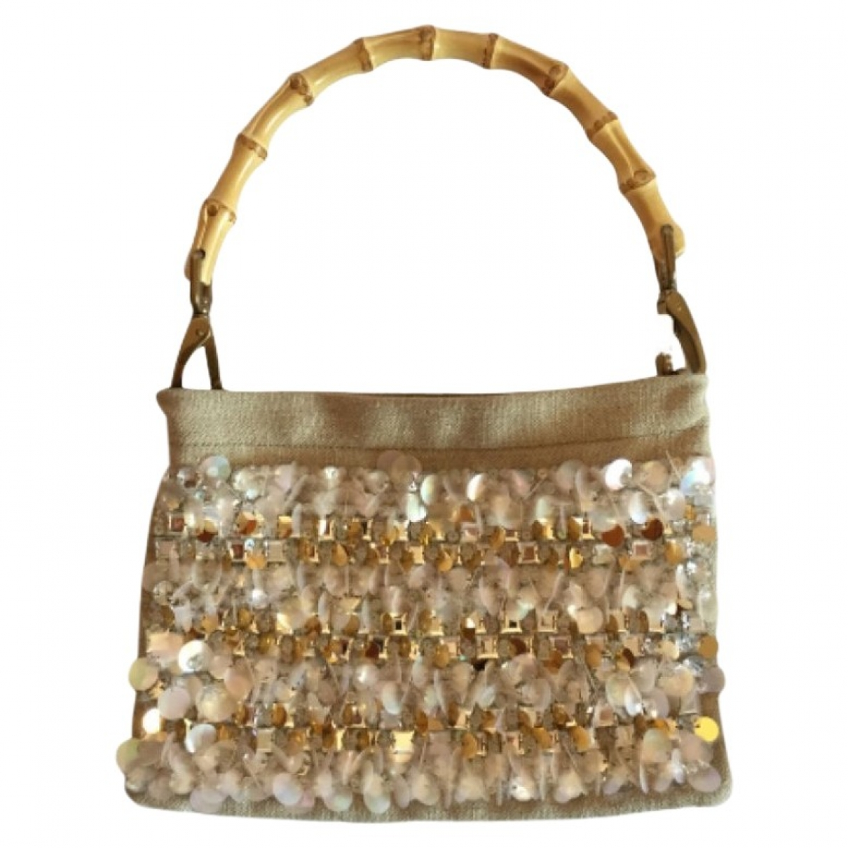Miu Miu \N Beige Linen handbag for Women \N