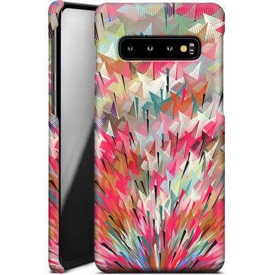Samsung Galaxy S10 Smartphone Huelle - Black Pigment Explosion von Danny Ivan