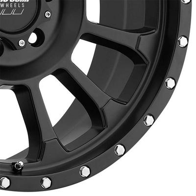 Pro Comp 34 Series Rockwell, 18x9 Wheel with 6 on 135 Bolt Pattern - Satin Black - 5034-8936