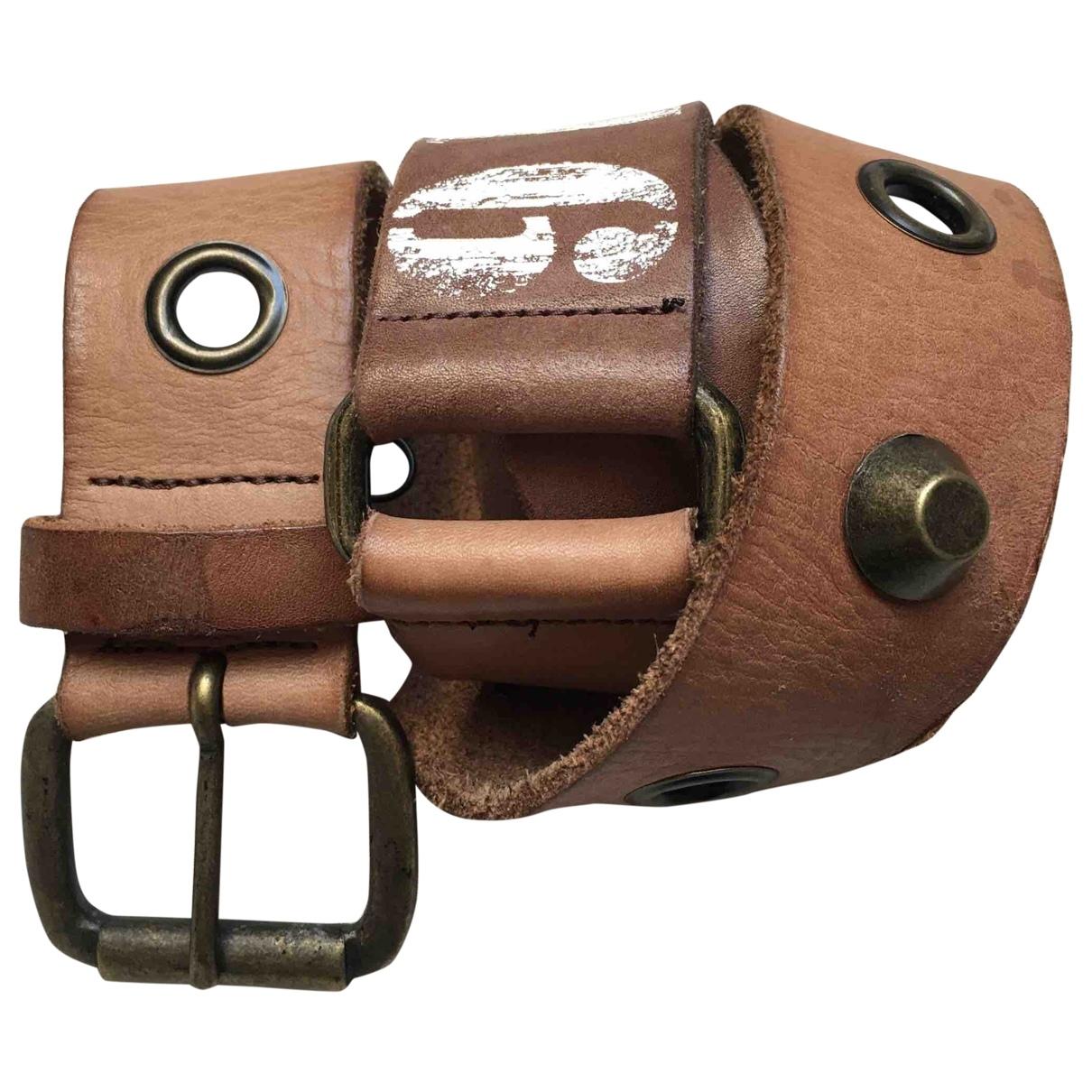 Cinturon de Cuero Ikks