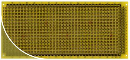 Roth Elektronik RE331-LF, Single Sided DIN 41612 Multibus II Board With 32 x 81 1mm Holes, 2.54 x 2.54mm Pitch, 220 x 100 x 1.5mm