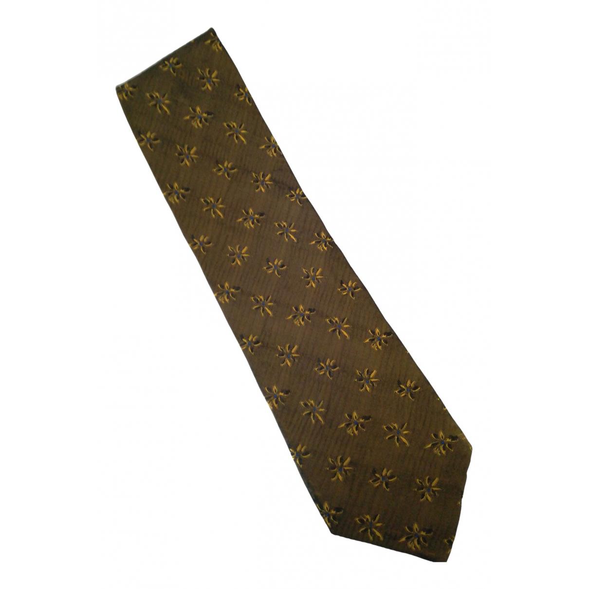 Kenzo \N Krawatten in  Braun Seide