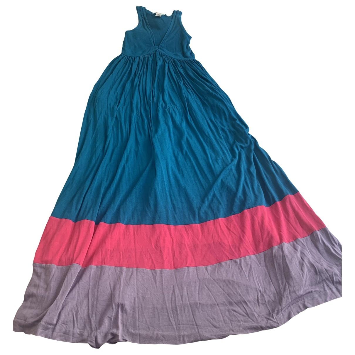 Diane Von Furstenberg \N Multicolour Cotton - elasthane dress for Women 10 US