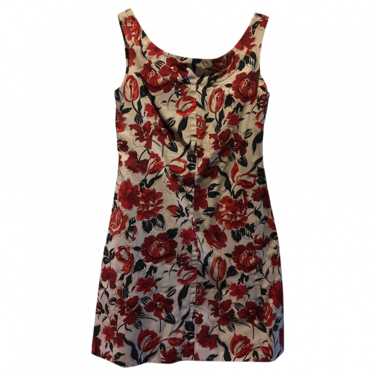 Jil Sander \N Multicolour Cotton dress for Women 38 FR