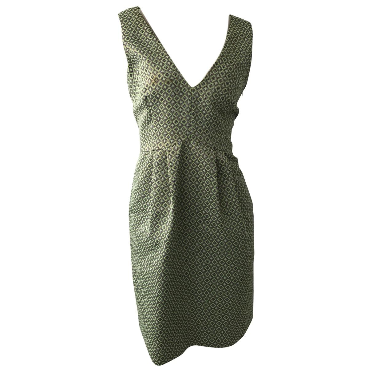 Moschino Cheap And Chic - Robe   pour femme en coton - vert