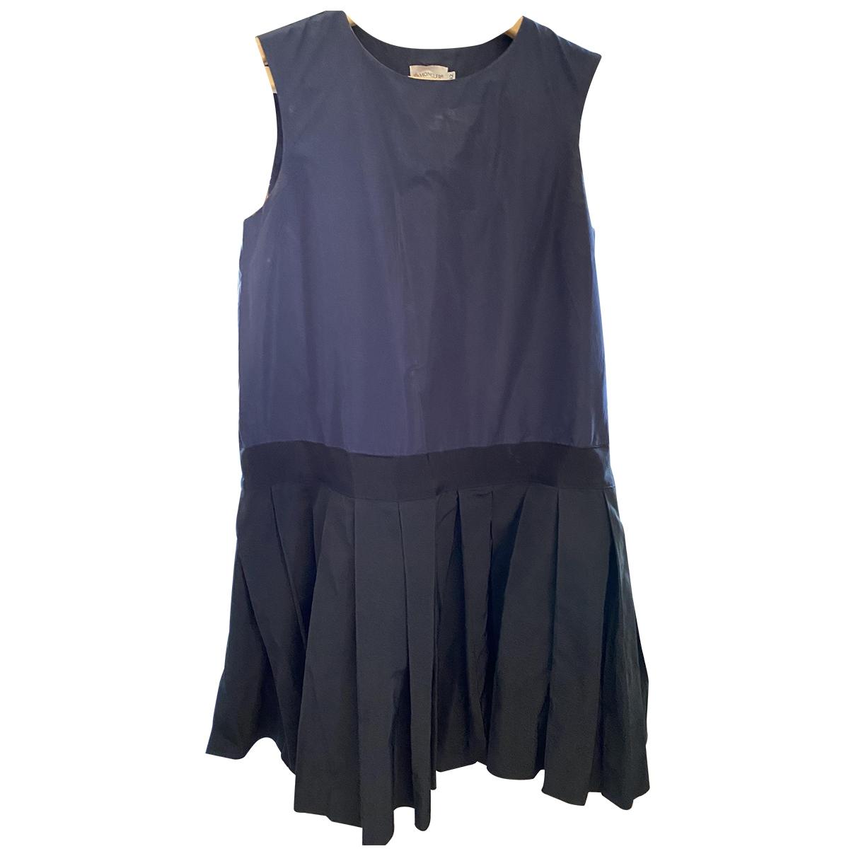 Moncler \N Blue dress for Women 42 FR