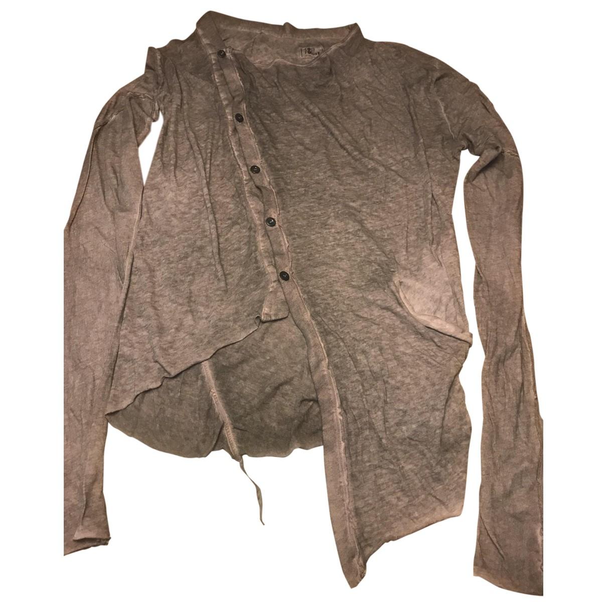Lost & Found Ria Dunn \N Pullover.Westen.Sweatshirts  in  Grau Baumwolle