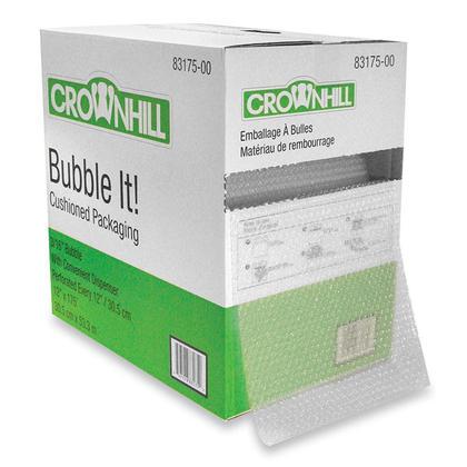 CROWNHIL® Emballage à bulles avec distributeur, 12