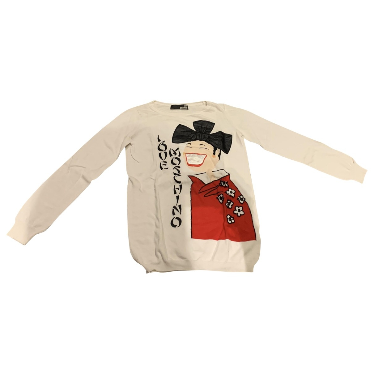Moschino Love \N White Cotton Knitwear for Women 40 IT