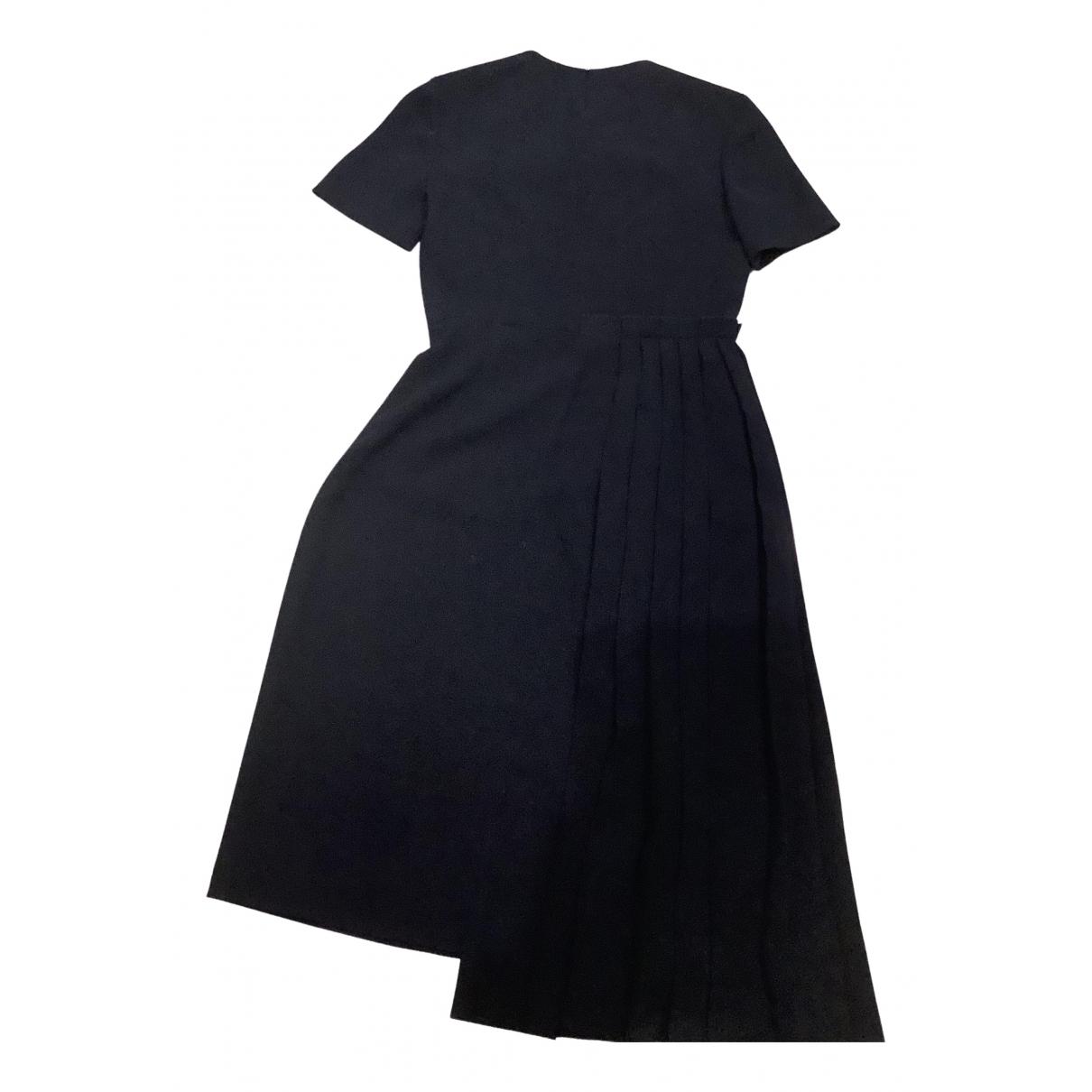 Cacharel - Robe   pour femme en laine - bleu