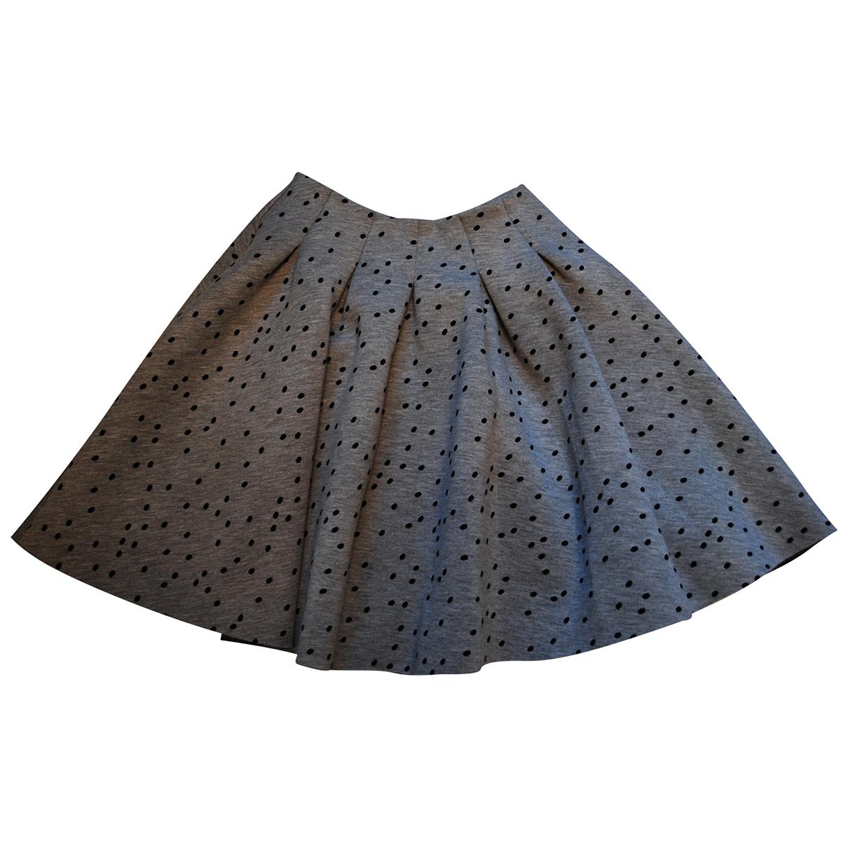 Maje N Grey skirt for Women 34 FR