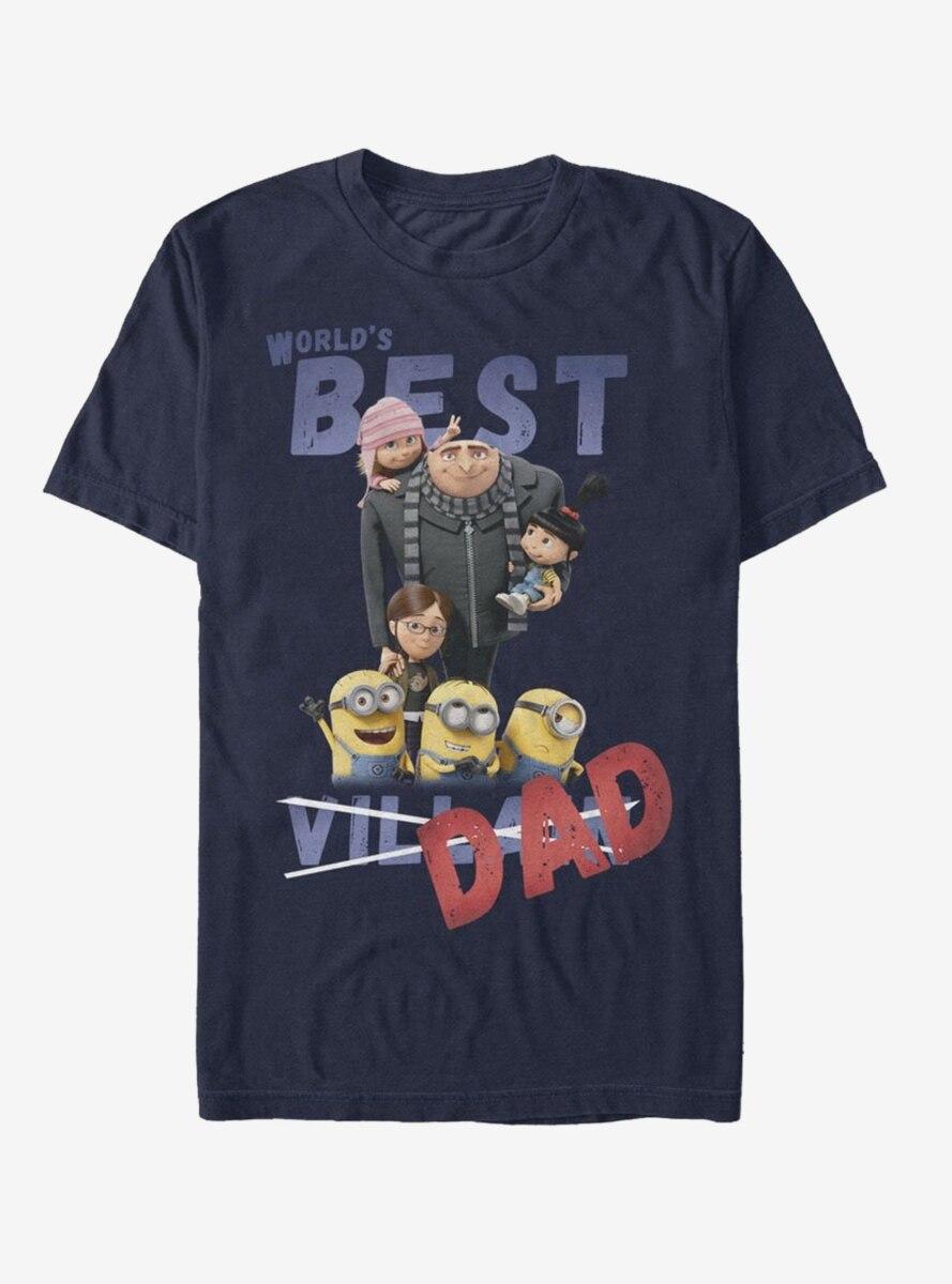 Despicable Me World's Best Villain Dad T-Shirt