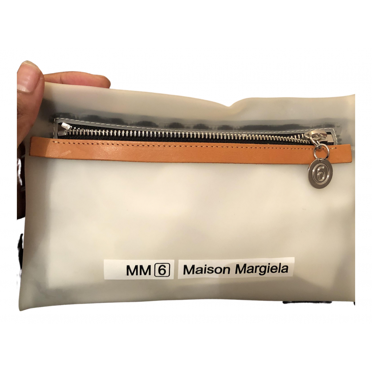Mm6 N White Clutch bag for Women N