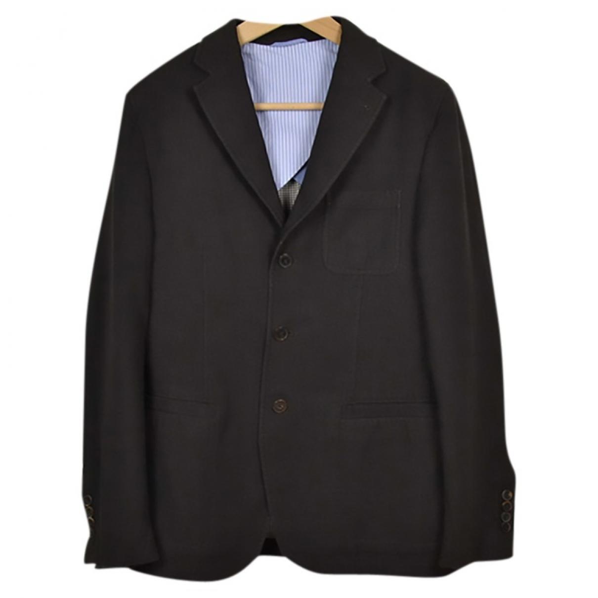 Massimo Dutti - Vestes.Blousons   pour homme en coton - marron
