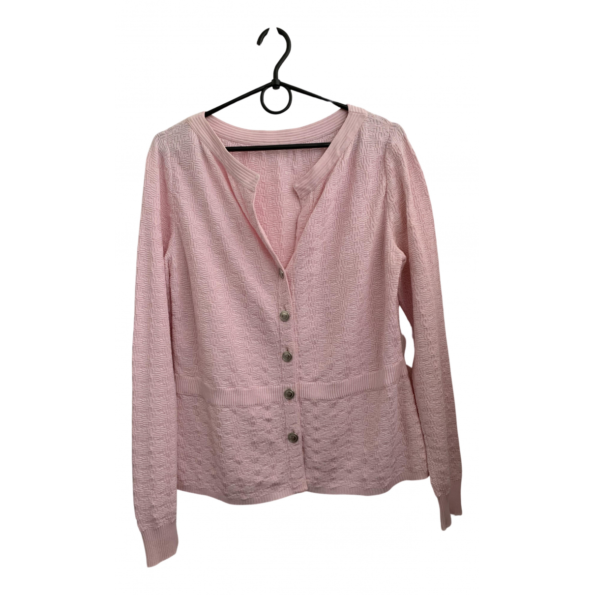 Chanel N Pink Cotton Knitwear for Women 40 FR