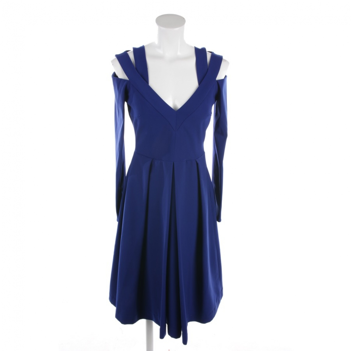 Preen By Thornton Bregazzi \N Kleid in  Blau Polyester