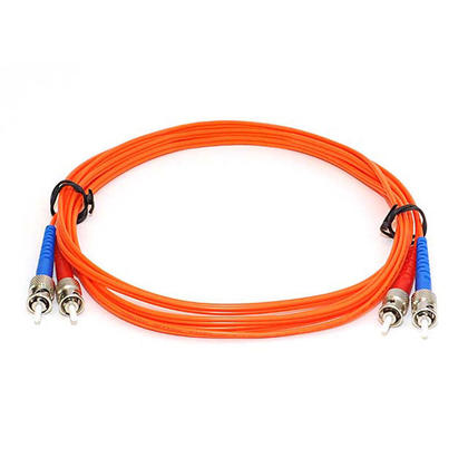 Câble fibre optique, OM1 ST/ST, multi mode, duplex (type 62.5/125) - orange - Monoprice® - 3m