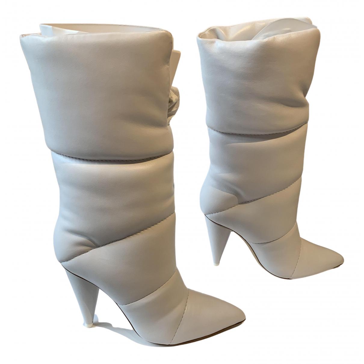 Botas de Cuero Jimmy Choo X Off-white