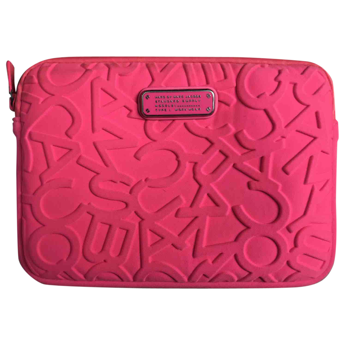 Marc By Marc Jacobs \N Clutch in  Rosa Synthetik