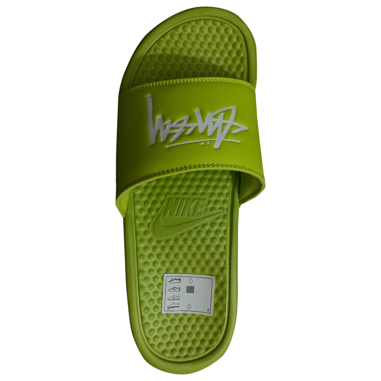 Nike X Stussy \N Sandalen in  Gruen Kautschuk
