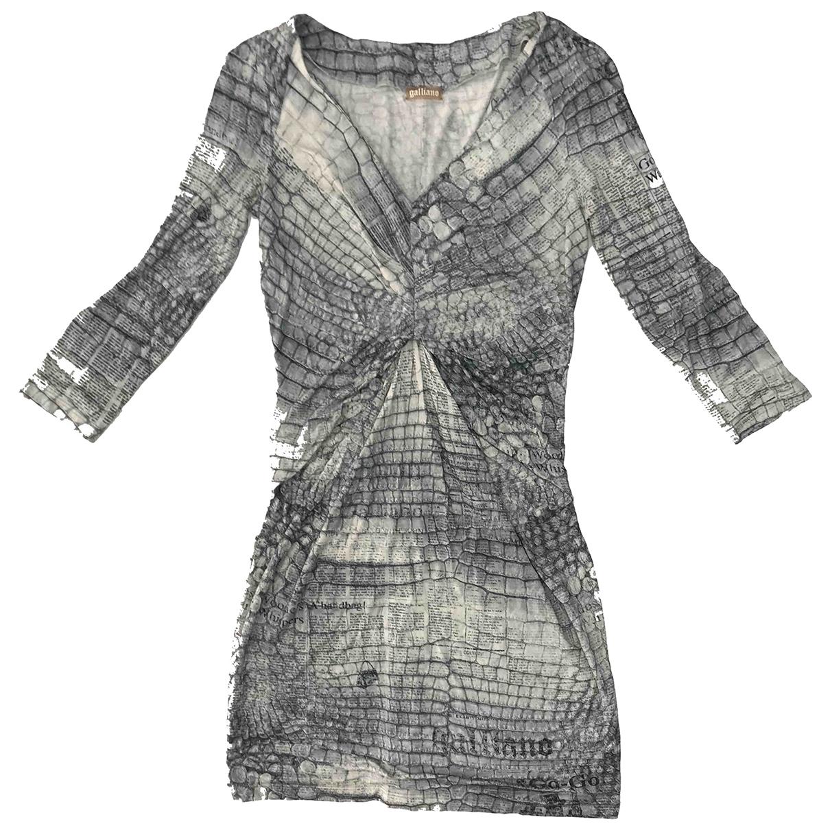 Galliano - Robe   pour femme - blanc