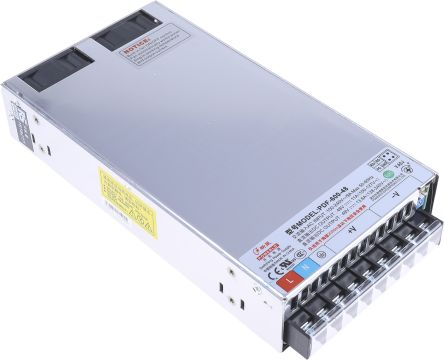 RS PRO , 588W Embedded Switch Mode Power Supply SMPS, 48V dc, Enclosed