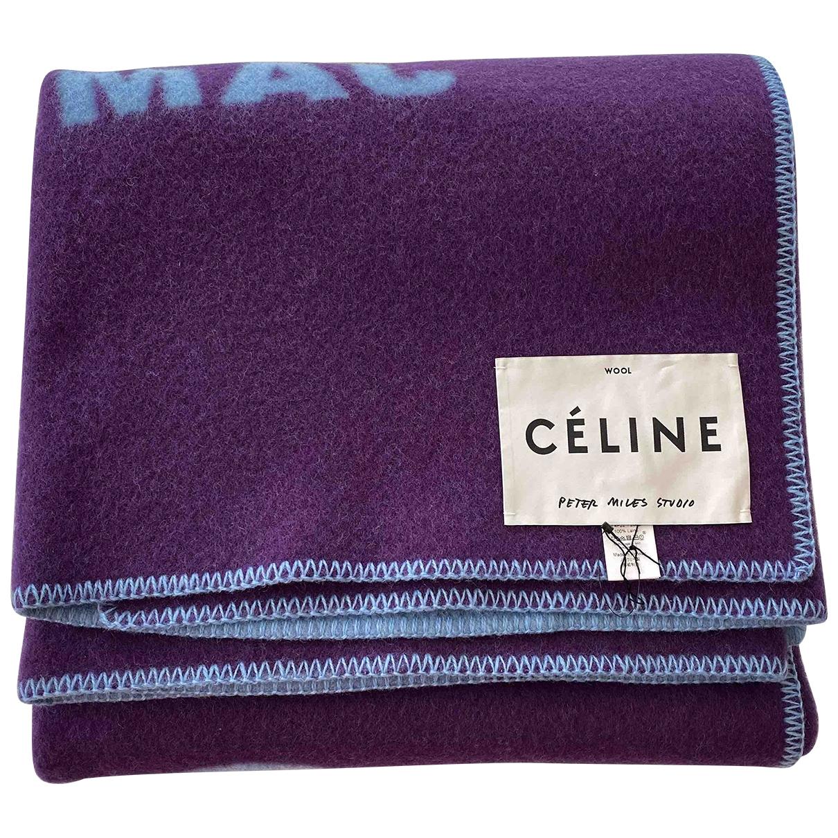 Celine - Linge de maison   pour lifestyle en laine - bleu